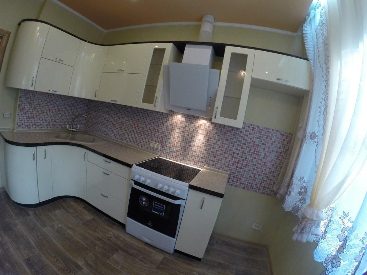 кухни угловые 8 кв.м фото